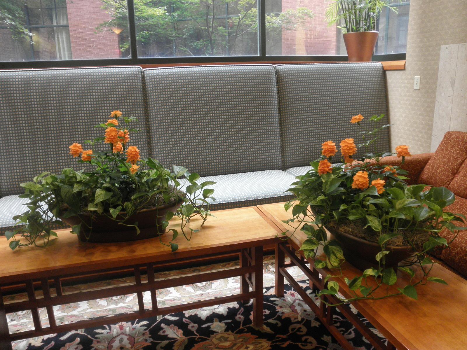 Silk Planter Table Arrangement